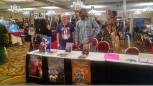 Paul and Steve at Ravencon 2018